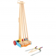 Spielba croquet trolley for four persons